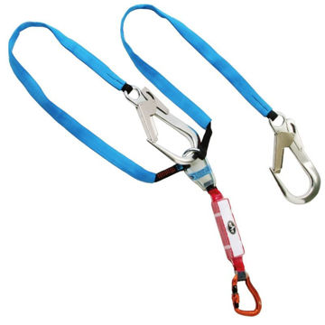 Picture of Sar 1.6m Twin Clip Back Lanyard