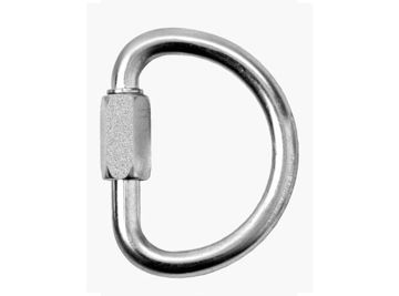 Picture of Sar M0006 Mild Steel Galvanised Dee Maillon Connector