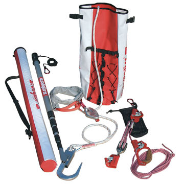 Picture of DBI-SALA AG62501030 Rollgliss R250 Pole Rescue Kit