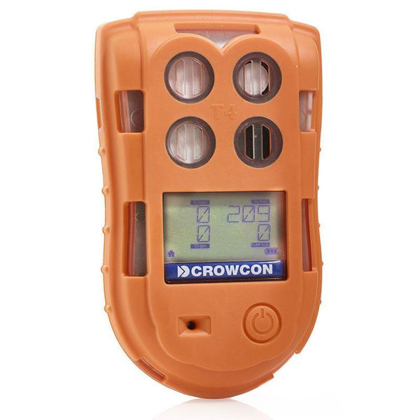 Crowcon Tetra T4 Multi Gas Detector with Charger