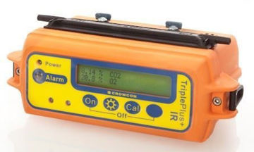 Picture of Crowcon TPU-01-EA-C Triple Plus and IR Multi 4 Gas Detector