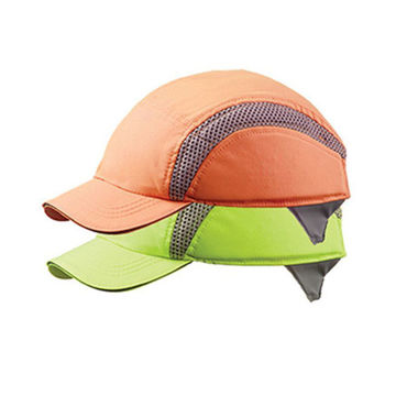 Picture of Centurion Standard Peak Hi Visibility Airpro Baseball Bump Cap - Yellow - Pack of 10