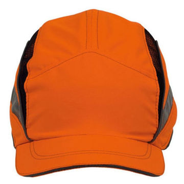 Picture of Scott Safety 2020984 First Base 3 HC23 Classic High Visibility Reduced Peak Bump Cap - Pack of 20