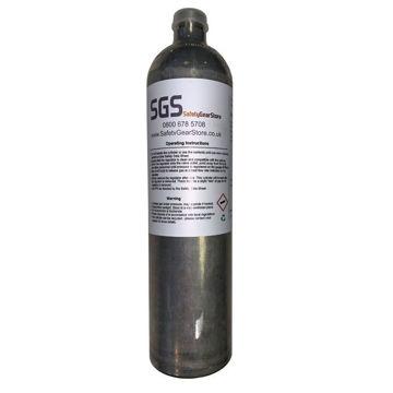 Picture of 34L SGS Gas 001 (R) Bump/Calibration Gas (Quad Gas)