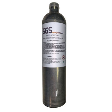 Picture of 34L SGS Gas 045 (R) Bump/Calibration Gas (Quad Gas)