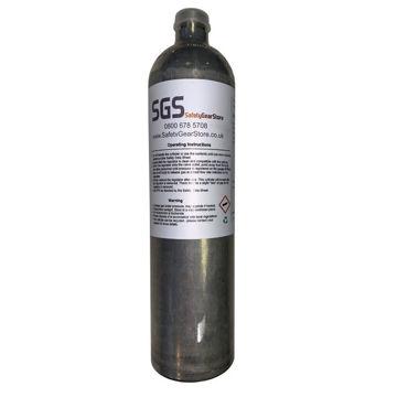 Picture of MicroClip XL/X3 SGS Gas 099 (R) Bump/Calibration Gas (Quad Gas)