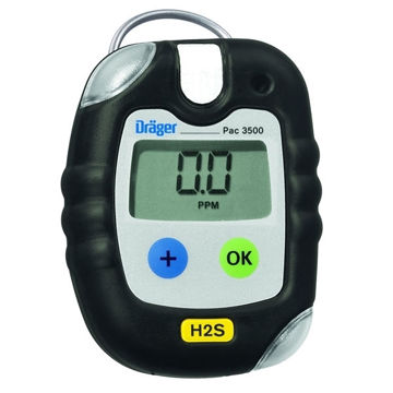 Picture of Drager (Draeger) PAC 3500 Single Gas Detector