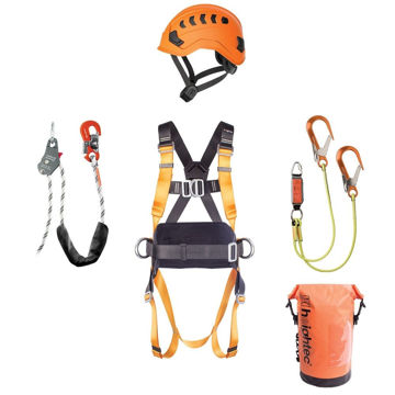 Picture of Heightec WK112 Rigger's Tower Climber Kit (2019 Update)