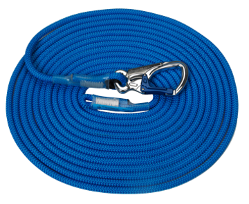 Picture of Ikar 11mm Blue Kernmantle Rope with IKV02 Connector
