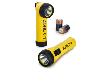 Picture of Wolf ATEX Safety Torch with LED Torch