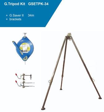 Picture of Globestock GSETPK-34G Tripod Kit