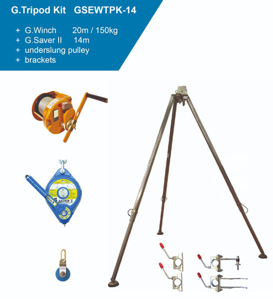 Picture of Globestock GSEWTPK-14G Tripod Kit