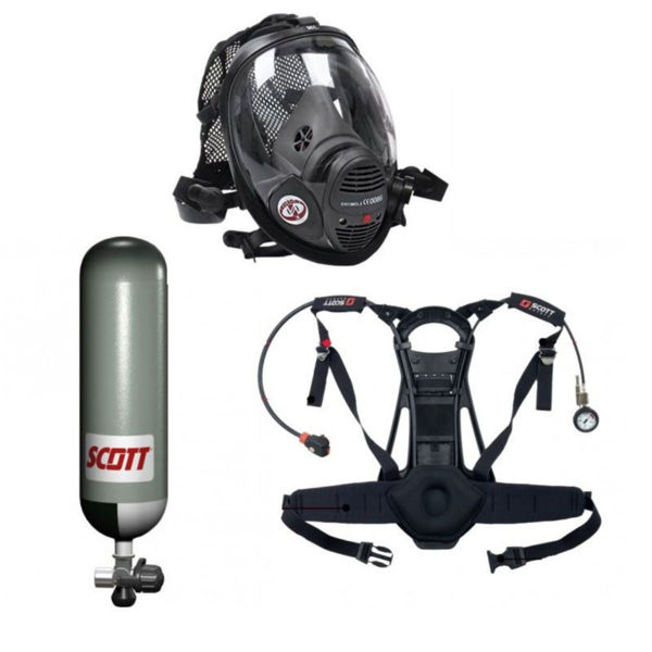 Picture of Scott Safety Pro-Vision Breathing Apparatus Kit