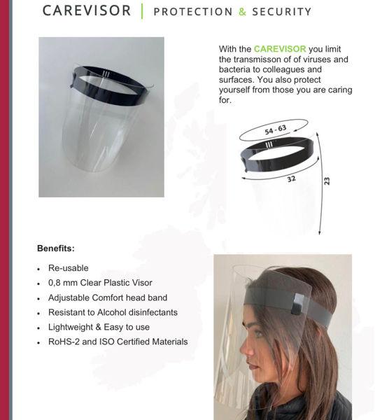 Picture of Carevisor Reusable Face Shield