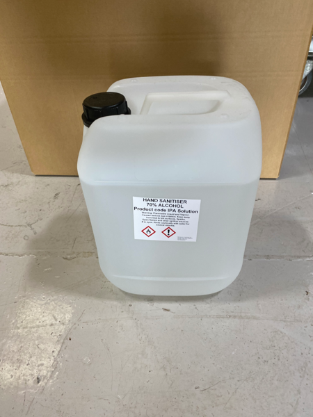 Picture of 70% Alcohol Hand Sanitiser - 10L