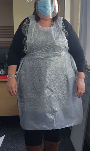 Picture of Disposable Aprons - Roll of 100
