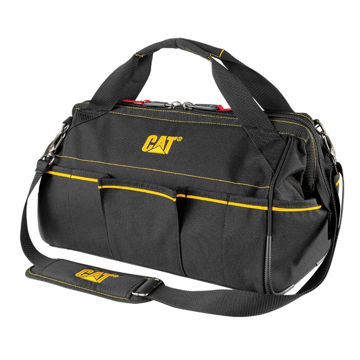 """Picture of Caterpillar 16"""" Tech Wide Mouth Tool Bag (MPP)"""