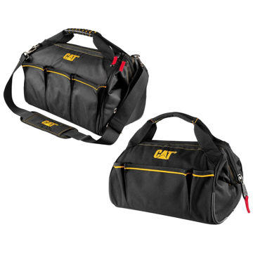 """Picture of Caterpillar 13"""" Wide Mouth Tool Bag (OPP)"""