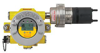 XNX-AMSI-RHNNN XNX Transmitter, HART® over 4-20mA output and 3 fault/alarm relays and local HART® interface port, ATEX/IECEx, 4 x M25 entries, painted 316SS, configured for Optima Plus and Excel