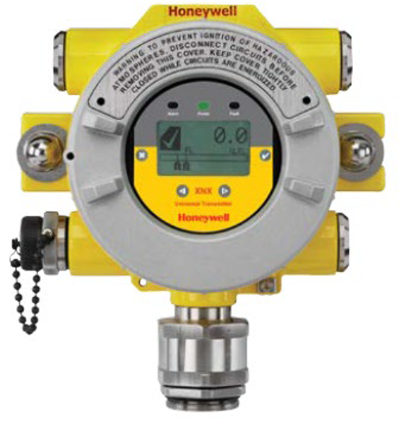 XNX-AMSV-FHCB1 XNX Gas Detector, HART® over 4-20mA and Foundation Fieldbus™ output and local HART® interface port, ATEX/IECEx/INMETRO, 3 x M25 entries, painted 316SS, includes MPD catalytic sensor 0-100%LEL