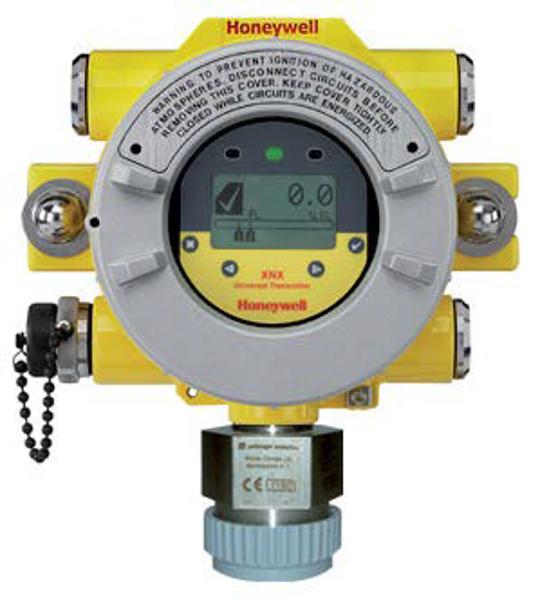Honeywell XNX-AMAV-NNNNN XNX Transmitter, HART® over 4-20mA output, ATEX/IECEx, 5 x M25 entries, painted Aluminium, configured for Sensepoint High Temperature Sensor