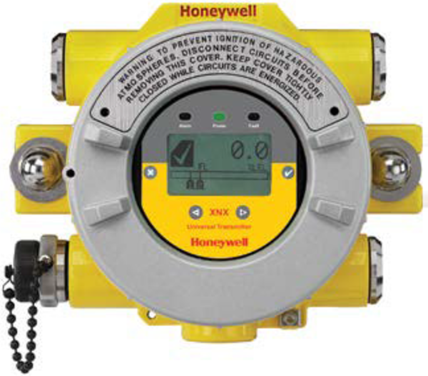 XNX-AMAE-NNNNN XNX Transmitter, HART® over 4-20mA output, ATEX/IECEx/INMETRO, 4 x M25 entries, painted Aluminium, configured for XNX toxic and oxygen sensors