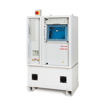 FTIR-based analyser, for measurement of up to 14 gases per sample point. Includes primary venturi pump with automatic switch-over to electric backup pump, touchscreen user friendly interface (point and click), built-in diagnostics, configurable gas selection, web-based user interface, 10 point sample valve assembly including dust filter, 80 user-programmable relay contacts; requires method(s) for detection of gases according to customer's gas list. Power requirements: 115VAC, 5.0m path length gas cell.