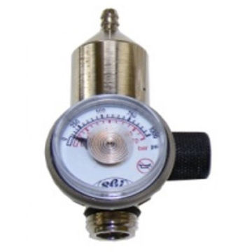 Fixed flow regulator with on/off control