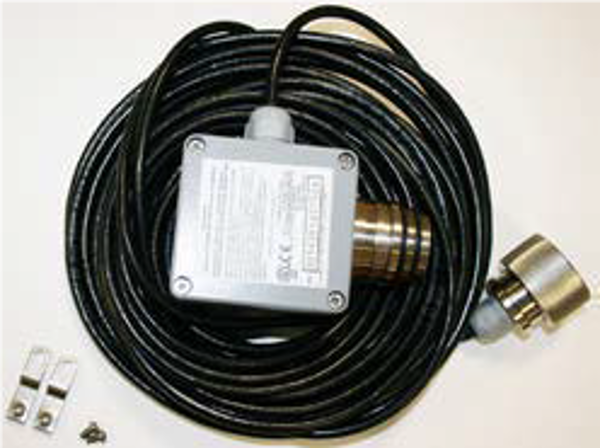 Remote mounting kit for Series 3000 and XNX EC toxic sensors including sensor connection unit fitted with 15m cable and connection plug for transmitter