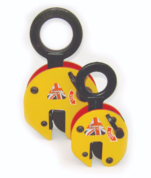Camlok CZ 'Heavy Duty' Vertical Plate Clamps - W/ Hook Ring