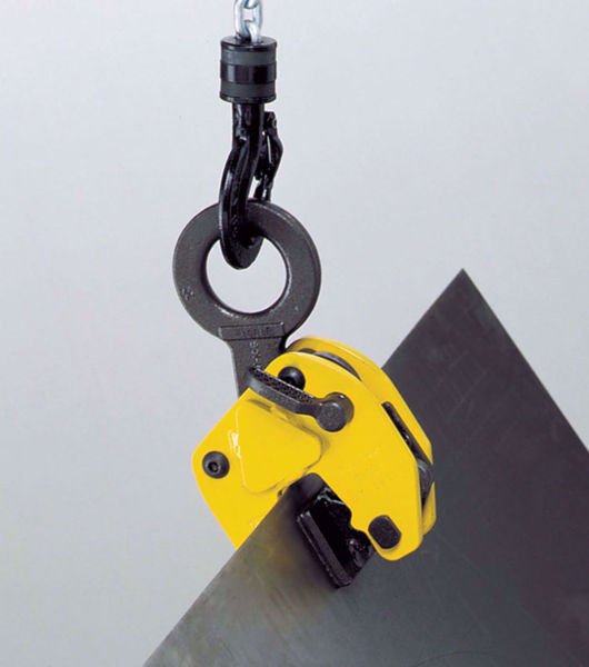 Camlok LJ 'Non-Marking' Plate Clamps - Rubber Pads