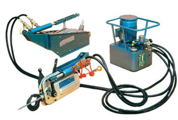 Tractel Tirfor TU-H Hydraulic Wire Rope Hoists