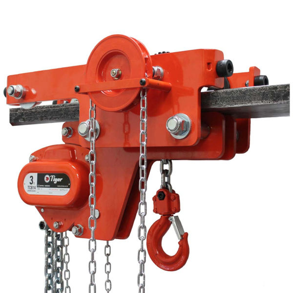 Tiger Low Headroom Combined Chain Block & Geared Trolley
