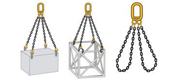 William Hackett Grade 8 Four Leg Chain Sling