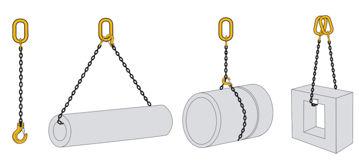 William Hackett Grade 8 Single Leg Chain Sling