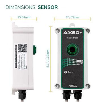 Analox AX60SAQYA Quick Connect AX60 CO2 Sensor