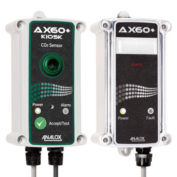 Analox AX60-K CARBON DIOXIDE (CO2) GAS DETECTOR