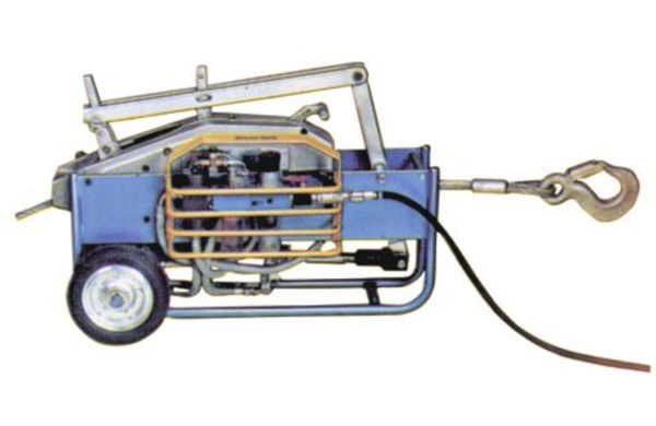 Tractel Tirfor TU-A Pneumatic Wire Rope Winch