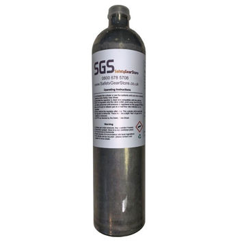 Picture of Stocked SGS Gas 100 (R) Bump/Calibration Gas (Quad Gas)