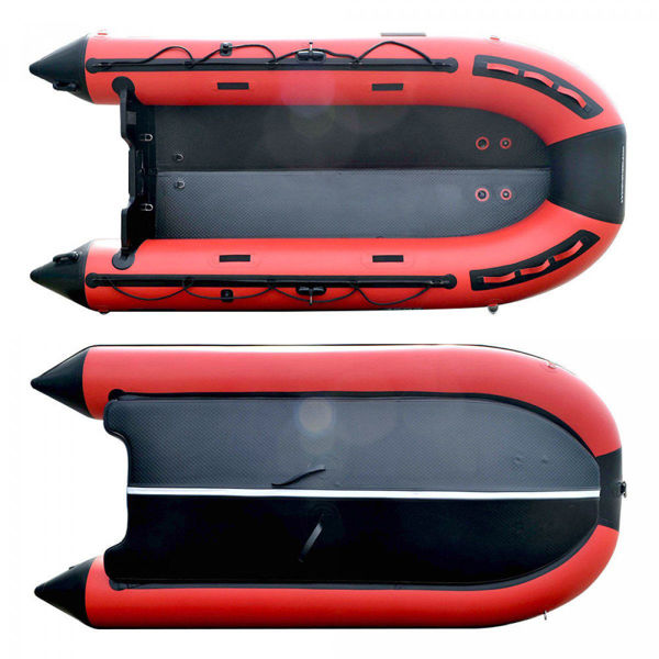 4M Hypalon Inflatable Boat With Inflatable Floor