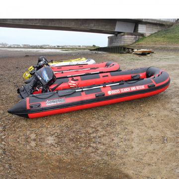 Inflatable Boat with Aluminium Floor (3.2m - 6m)