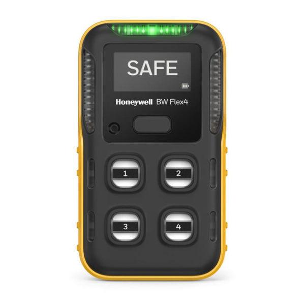 BW Flex4 Multi Gas Detector CPD-W6X1H1S3-Y-00