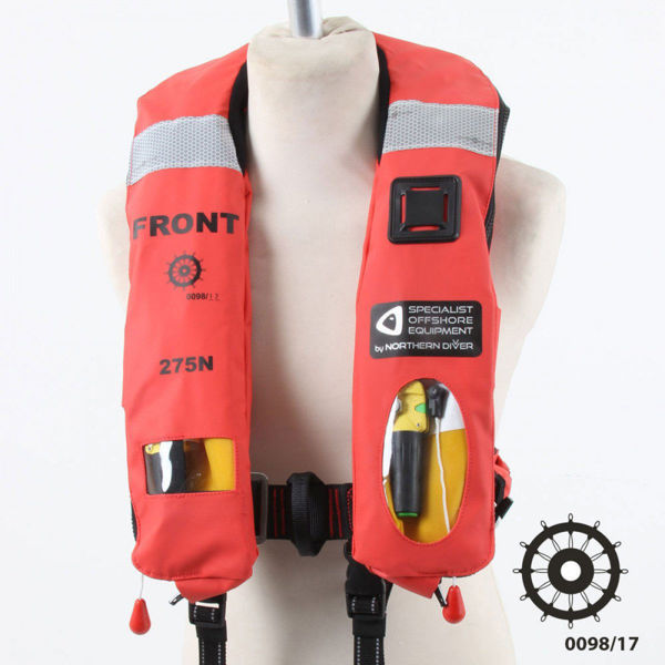 Solas Approved 275N Twin Chamber Life Jacket