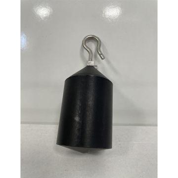 Displacer Carbon filled PTFE, weight 223 g.; Diameter 45 mm (C/223/CT/045)