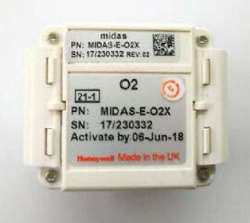 Honeywell Midas® Sensor Cartridges
