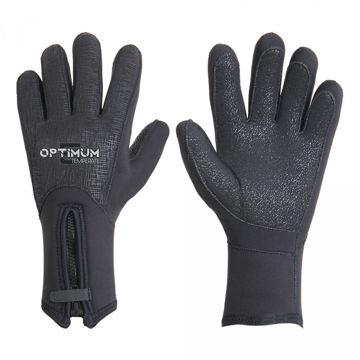 Optimum 3D Zipped Gloves (3mm, 5mm)